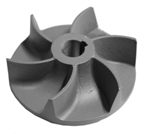 Pump impeller for EGGER pump