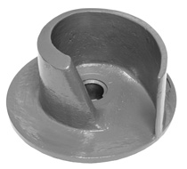 Pump impeller ABS