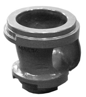 Single channel impeller for JUNG pump