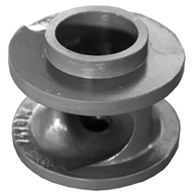 Single channel impeller for WILO EMU pump